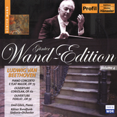 G&#252;nther Wand Edition - Beethoven: Piano Concerto, etc