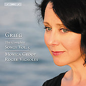 Grieg: Complete Songs Vol 5 / Monica Groop, Roger Vignoles