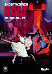 Shostakovich: The Bolt / Sorokin,  Bolshoi Ballet  [DVD]