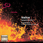 Walton: Symphony no 1 / Colin Davis, London SO