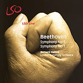Beethoven: Symphonies no 1 & 5 / Haitink, London SO