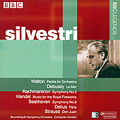 Walton, Debussy, Handel, Delius, etc / Silvestri, et al