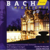 Bach Instrumental Highlights / Preston, Rilling, et al