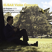 Elgar: Violin Concerto in B minor Op. 61 / Shaham, Zinman, Chicago SO