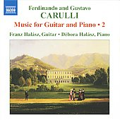 F. & G. Carulli: Music for Guitar and Piano Vol 2 / Franz Halász, Débora Halász