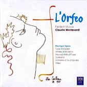 Monteverdi: L'Orfeo / Pinchgut Opera; Mark Tucker; Sara Macliver, Damian Whiteley,  Brett Weymark, Paul McMahon, Anna Fraser, Penelope Mills. Cantillation; Orch. of the Antipodes; Walker