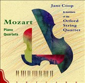Mozart: Quartet in G minor; Quartet in E flat / Jane Coop, piano. Andrew Dawes, violin. Sophie Renshaw, viola. Desmond Hoebig, cello