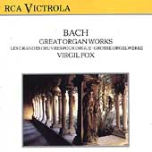 Bach: Great Organ Works / Virgil Fox