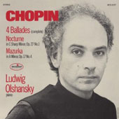 Chopin: 4 Ballades; Nocturne Op. 27 No. 1; Mazurka Op. 17 No. 4
