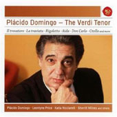 Placido Domingo: The Verdi Tenor - Arias from Il trovatore, La traviata, Rigoletto, Aida, Don Carlo, Otello and more / with Leontyne Price, Sherrill Milnes, Katia Ricciarelli