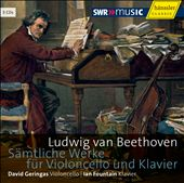 Beethoven: Complete Works for Cello & Piano / Geringas