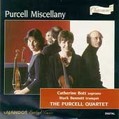 Purcell Miscellany / Bott, Bennett, Purcell Quartet
