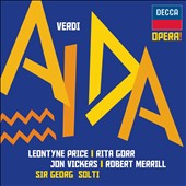 Verdi: Aida / Price, Vickers, Gorr, Merrill and Soltigda - Solti