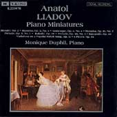 Liadov: Piano Miniatures / Monique Duphil
