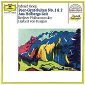 Grieg: Peer Gynt Suites 1 & 2, etc / Karajan, Berlin PO