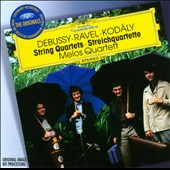 Debussy, Ravel, Kodaly: String Quartets / Melos Quartett