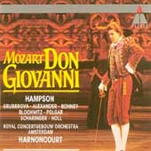 Mozart: Don Giovanni / Harnoncourt, Hampson, Concertgebouw