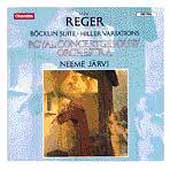 Reger: B&ouml;klin Suite, Hiller Variations / Nemme J&auml;rvi