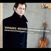 Voyages - Reisen, from Germany to France - works by Marais, Abel, Telemann, d'Hervelois, Forquery / David Rattinger, viola da gamba