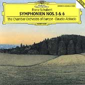 Schubert: Symphonies 5 & 6 / Abbado, CO of Europe