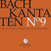 Bach: Cantatas, Vol. 9 - BWV 99, 110 & 169 / Choir & Orchestra of the J.S. Bach Foundation; Lutz