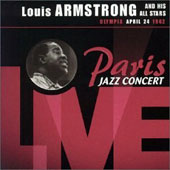 Louis Armstrong: Paris Jazz Concert Live: Olympia, April 24, 1962