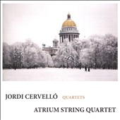Jordi Cervello (b.1935): Remembrances, Dos movements, Etüden nach Kreutzer, A Bach / Atrium String Quartet