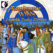 Renaissance Winds / Ensemble Doulce Mémoire