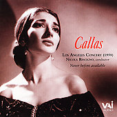 Maria Callas (Soprano Vocals): Los Angeles Concert (1958)