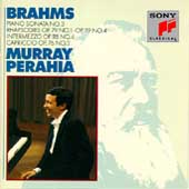 Brahms: Piano Sonatas no 3, etc / Murray Perahia