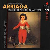 Arriaga: Complete String Quartets / Voces String Quartet