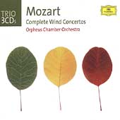 Trio - Mozart: Complete Wind Concertos / Orpheus CO