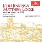 Jenkins, Locke: Fantasias and Suites / Music's Re-creation