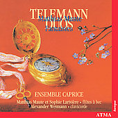 Telemann: Duos;  Maute: Fantasies / Ensemble Caprice