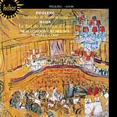 Poulenc: Aubade, Sinfonietta;  Hahn: Beatrice d'Este / Corp