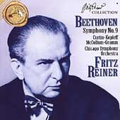 Beethoven: Symphony no 9 / Fritz Reiner, Chicago Symphony