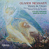 Messiaen: Visions de l'Amen, etc / Osborne, Roscoe