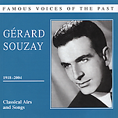 Famous Voices of The Past - Gérard Souzay