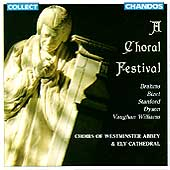A Choral Festival / Westminster Abbey & Ely Cathedral Choirs
