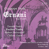 Verdi: Ernani, etc / Balkwill, Votto, et al
