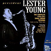 Lester Young (Saxophone): Vol. 1: 1936-1942