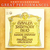 Mahler: Symphony no 10 / Ormandy, Philadelphia OR