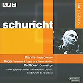 Brahms, Reger, Beethoven / Boult, Schuricht, et al