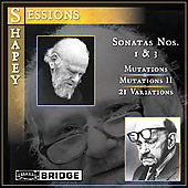 Sessions, Shapey: Piano Music / David Holzman, et al