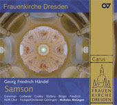 Handel: Samson / McGegan, Cooley, Daneman, Gottwald, Berger, et al
