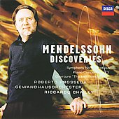 Mendelssohn Discoveries / Riccardo Chailly