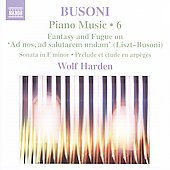 Ferruccio Busoni - Piano Music Vol 6