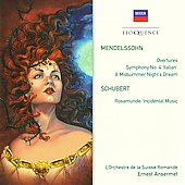 Mendelssohn: Sym No 4/Overtures/Midsummer