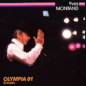 Yves Montand: Olympia 81 Extraits