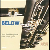 Below / Peter Sheridan, flutes; Claire Cooper, piano